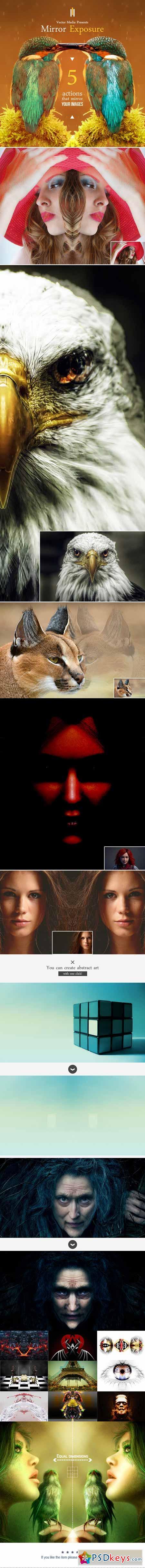 Mirror Exposure - Photoshop Actions 12943301