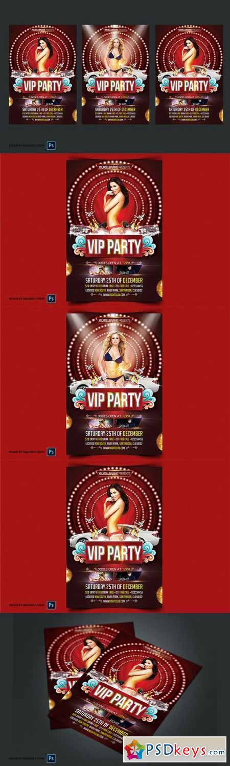 Vip Party Flyer Template 364776