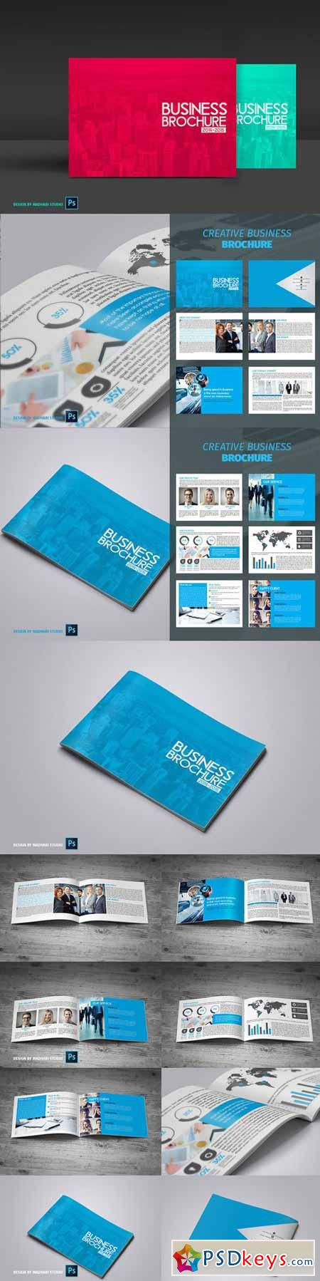 12 Pages Business Brochure 377284