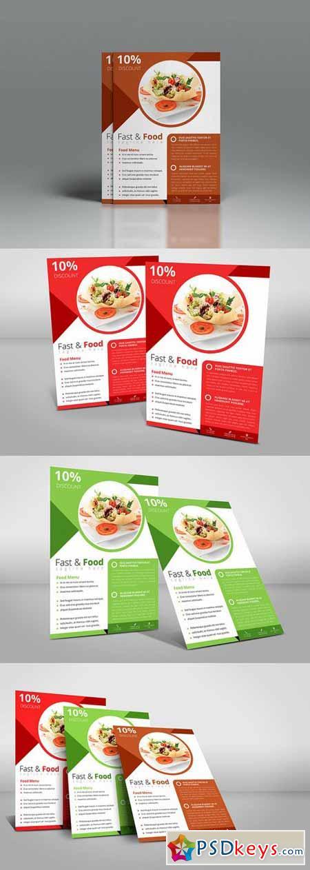 A4 Food Flyer 365569