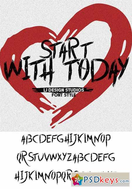 Start With Today Font