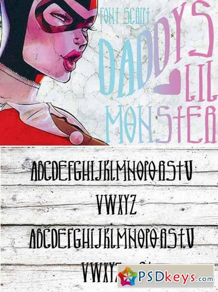 Monster ink font 383865