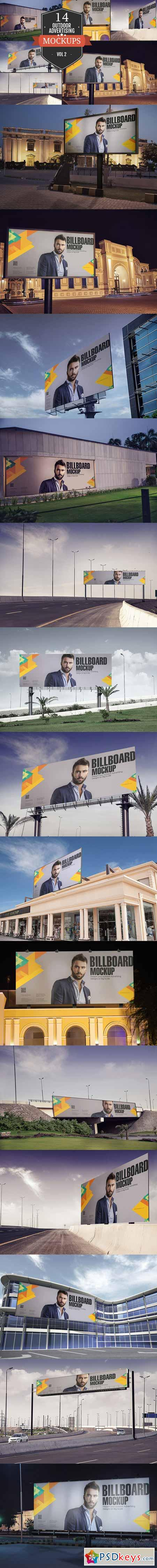 Outdoor Advertising Mockup Vol. 2 370544