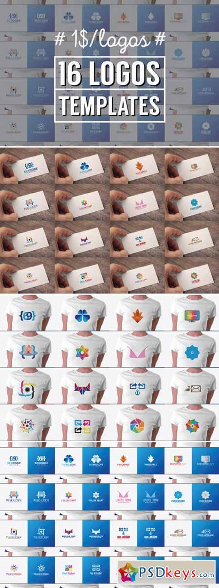16 Logos Templates 382267