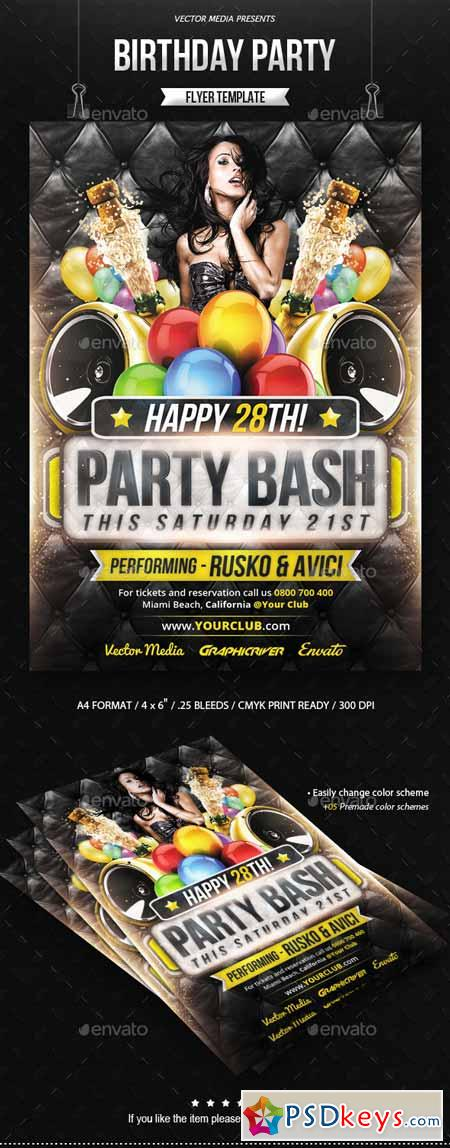 Birthday Party - Flyer 8823350
