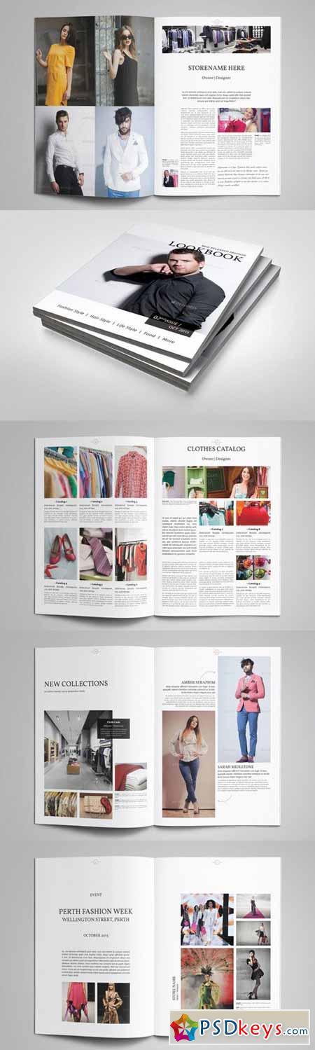 Magazine Template 367209