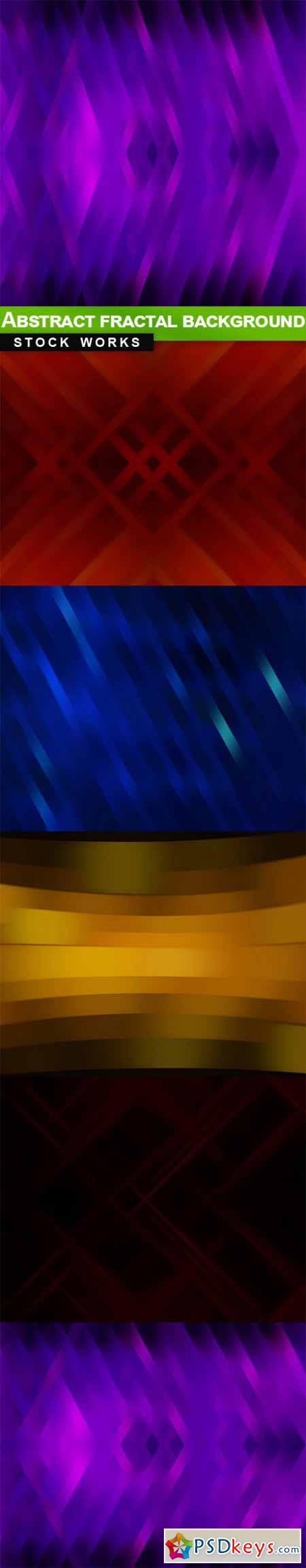 Abstract fractal background - 5 UHQ JPEG