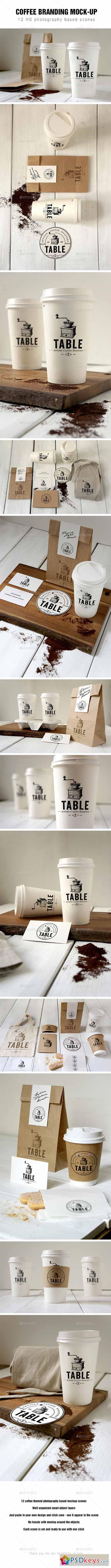 Coffee Branding Mockup 12753492