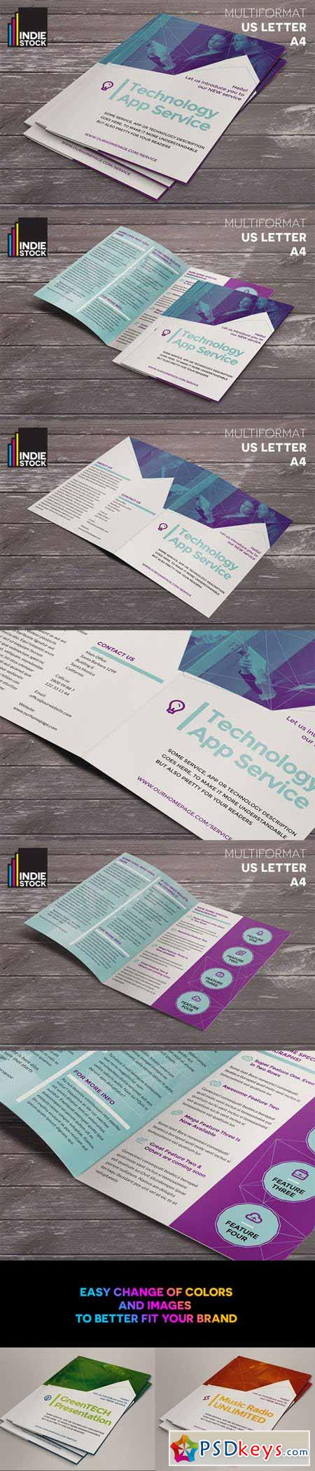 Technology Brochure Template 381905