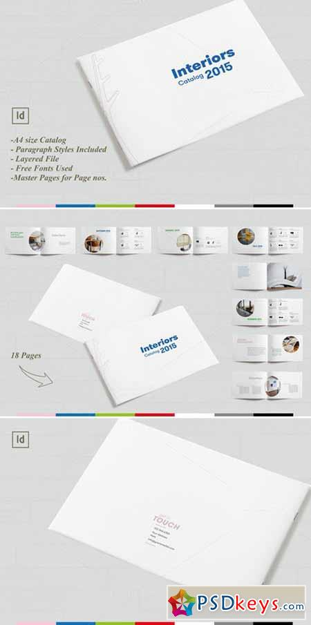 Minimal Product Catalog Brochure 385805