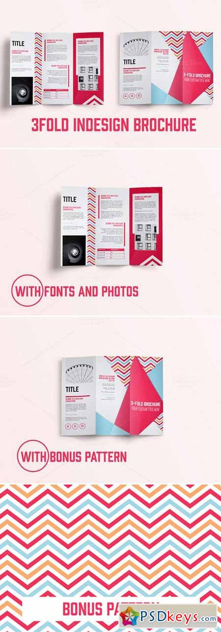 Indesign - 3Fold Brochure 388177