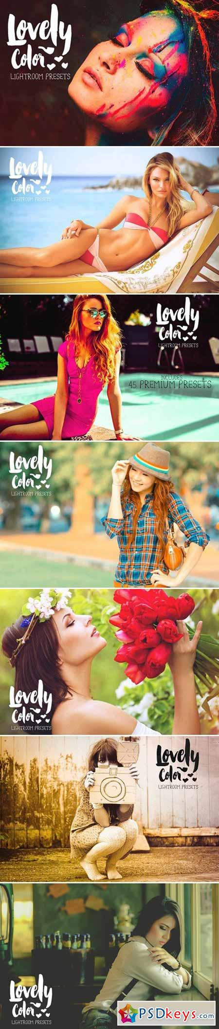 Lovely Color Lightroom Presets 386227