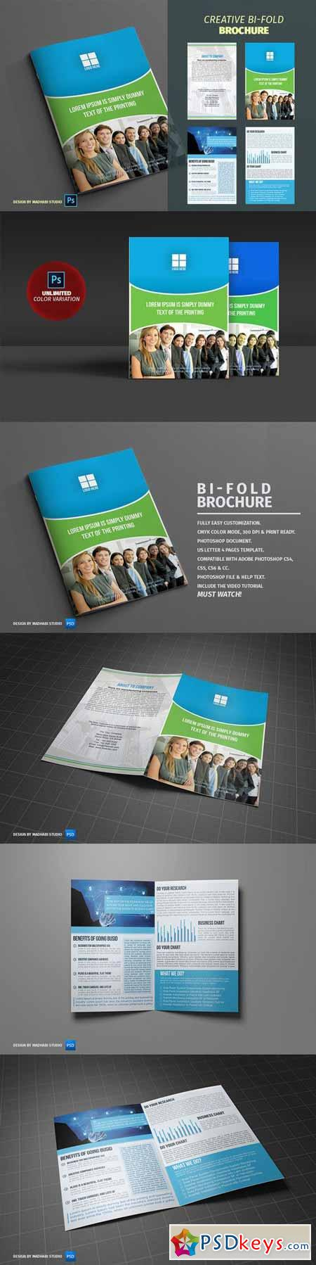 Corporate Bifold Brochure Vol 05 385964