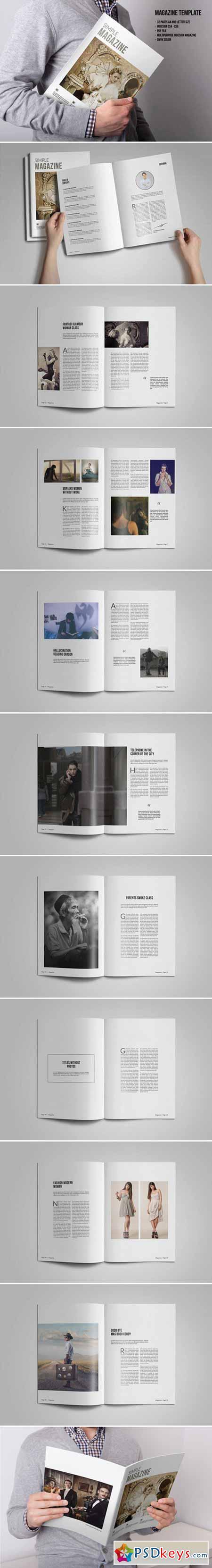 Multipurpose Magazine Template 382525