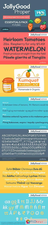JollyGood Proper Essentials 388716