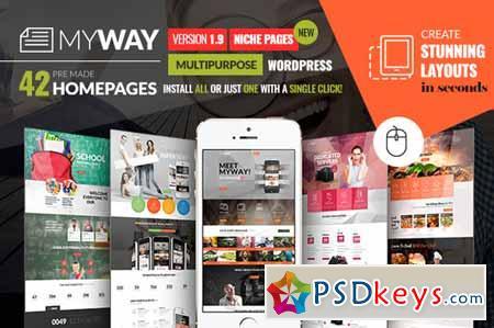 MyWay Multipurpose Wordpress Theme 374511