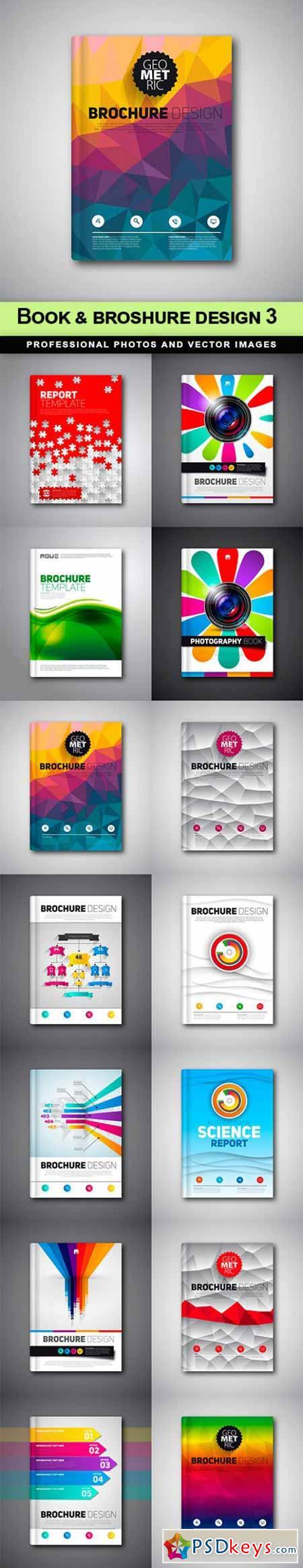 Book & broshure design 3 - 14 EPS