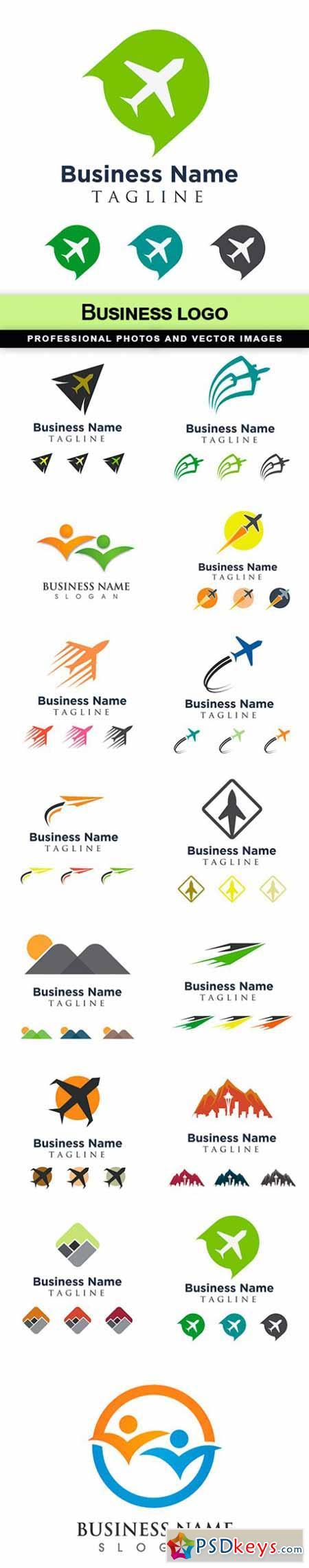 Business logo - 15 EPS