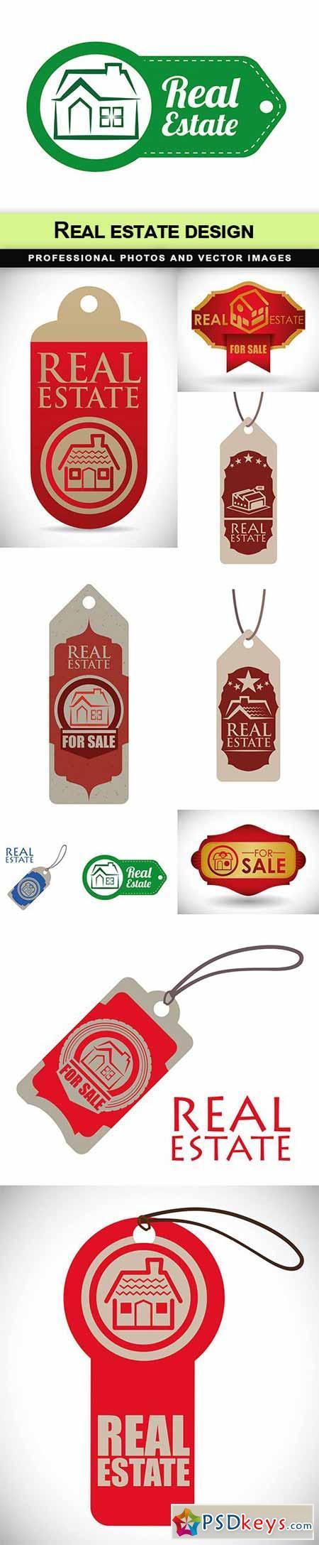 Real estate design - 10 EPS