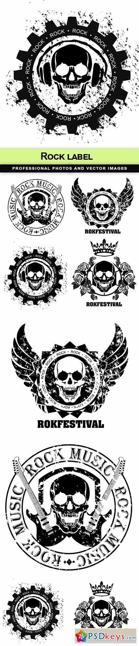 Rock label - 5 EPS