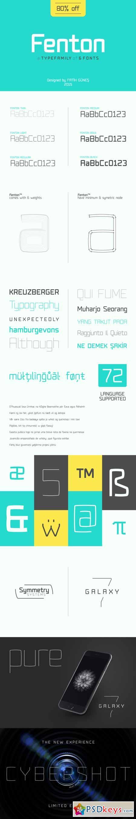 Fenton Font Family 367149