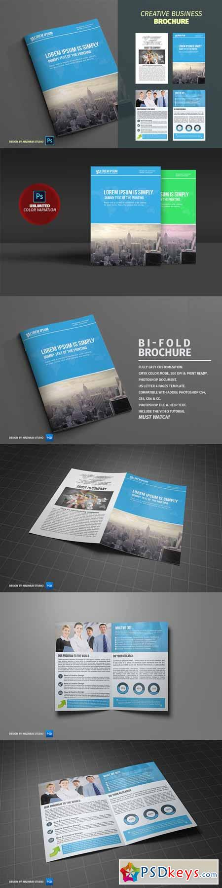 Corporate Bifold Brochure Vol 06 388643
