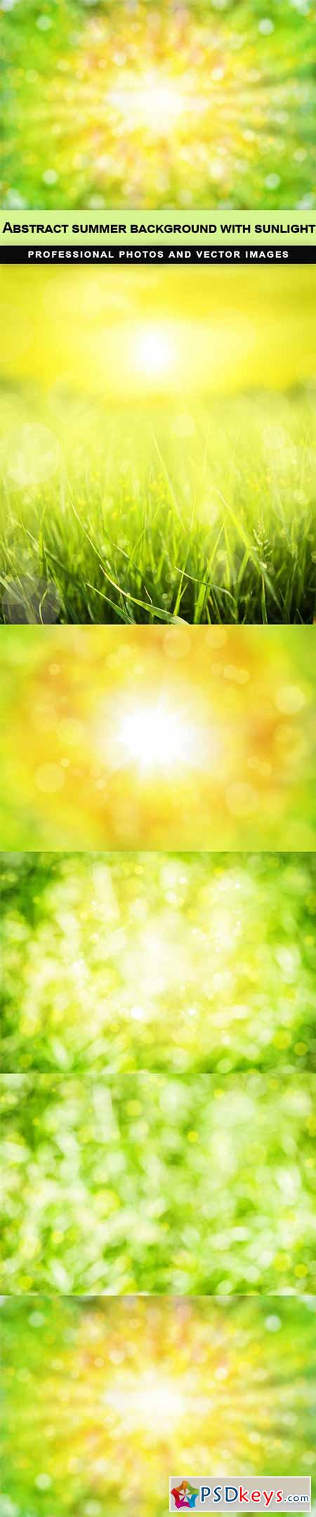 Abstract summer background with sunlight - 5 UHQ JPEG