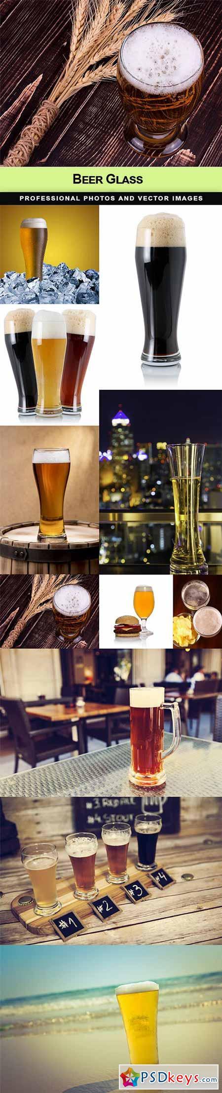 Beer Glass - 11 UHQ JPEG