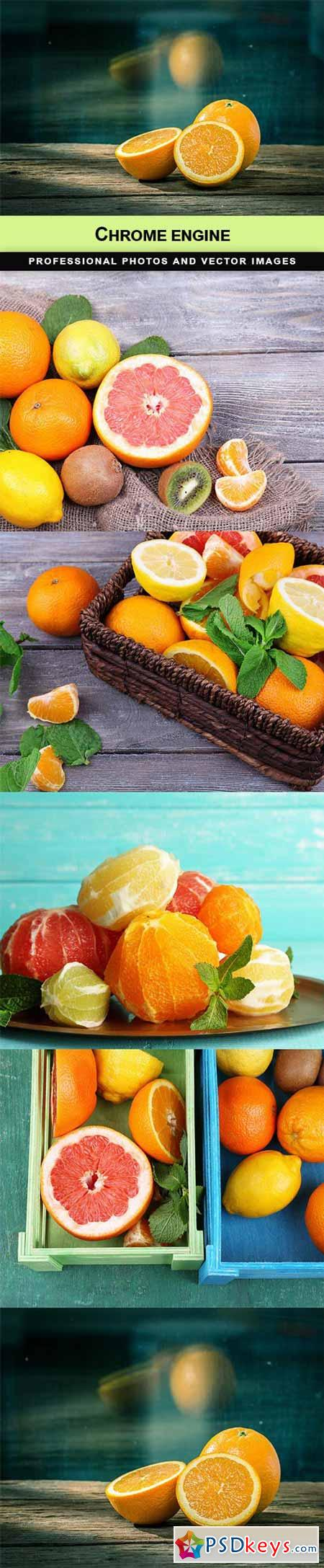Citrus fruits - 5 UHQ JPEG