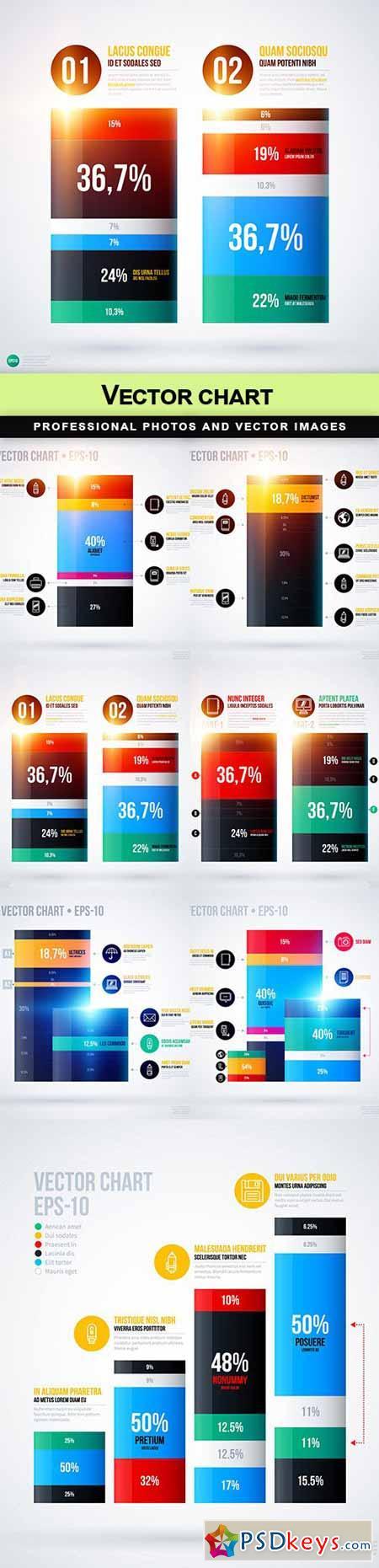 Vector chart - 7 EPS