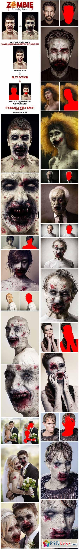 Zombie Photoshop Action 13077710