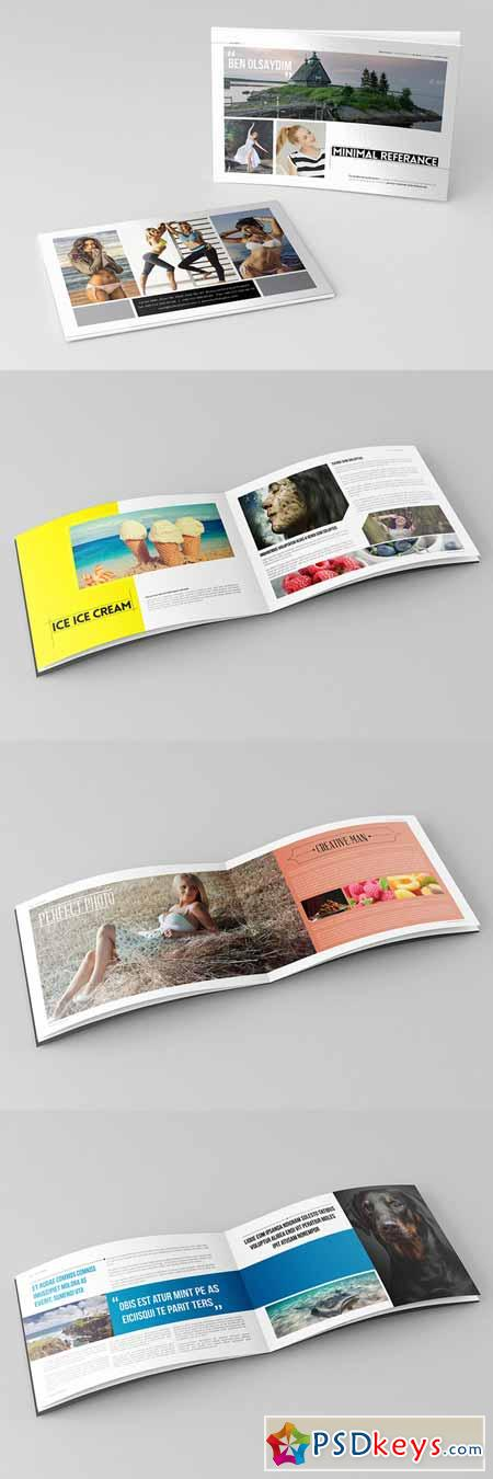 Minimal Catalog Template 392427