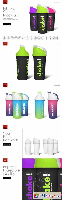 Fitness Shaker Mock-up 391857