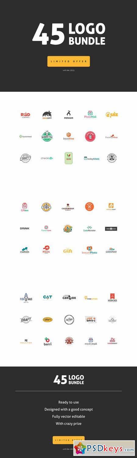 45 Logo Bundle - Limited offer 378908