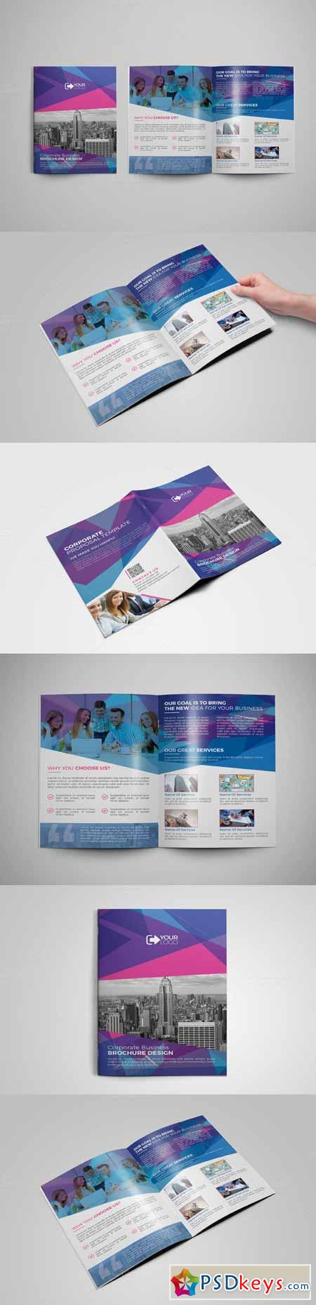 Bi Fold Brochure 391349
