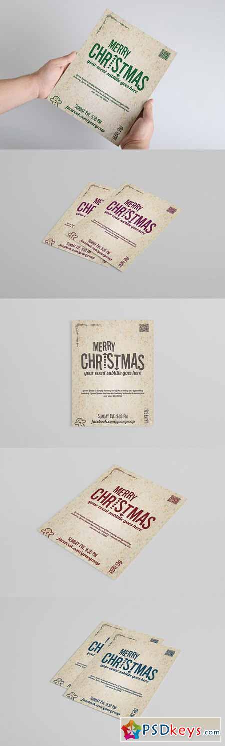 Christmas FLYER template 393439