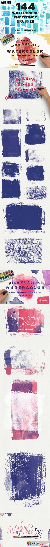 144 Watercolor PS Brush Bundle! 392956