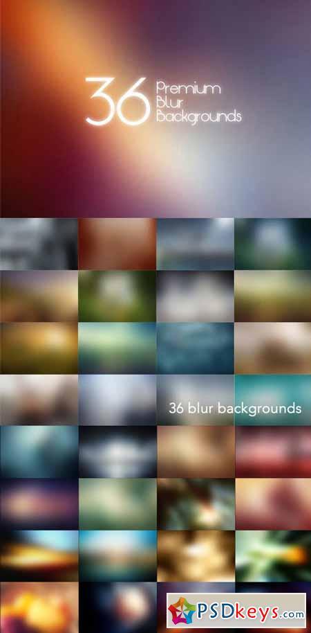 Premium Blur Backgrounds Bundle 372736