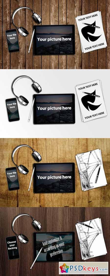 iPad Pro Mockup 393147