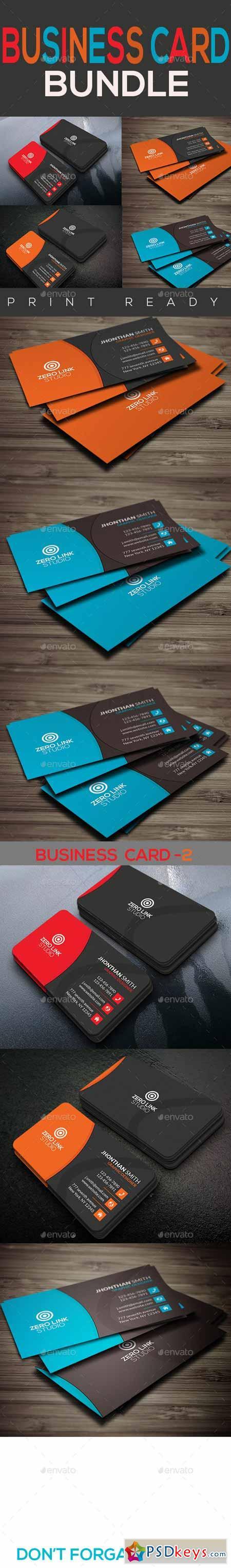 Corporate Business Card Bundle 13108479