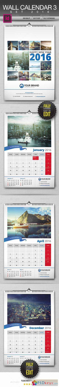 Wall Calendar 2016 13122707