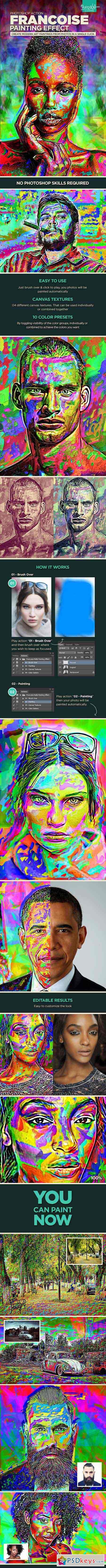 Francoise Painting Effect 12819161