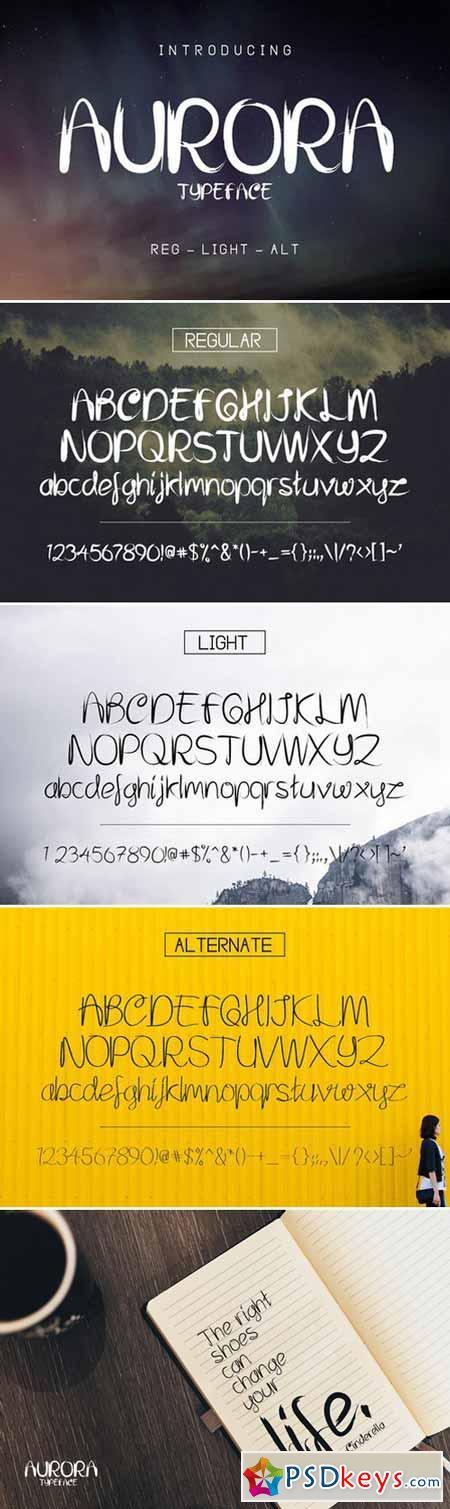 Aurora Font 391746
