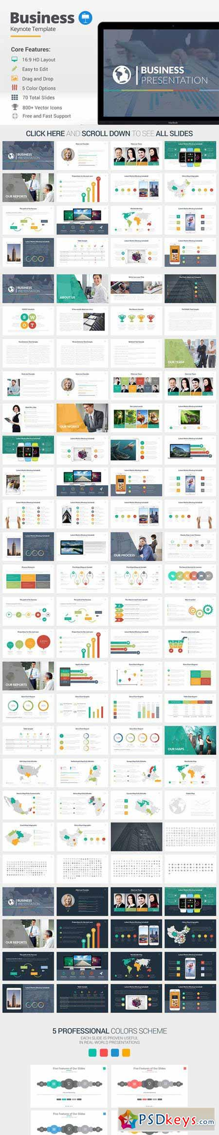 Business Keynote Template 389753 Free Download Photoshop – Keynote Template