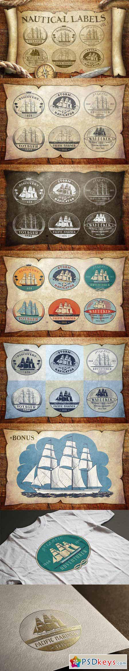 Nautical Labels vol. 1 388700