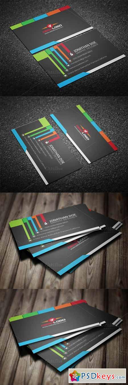Colorful Business Card 393534