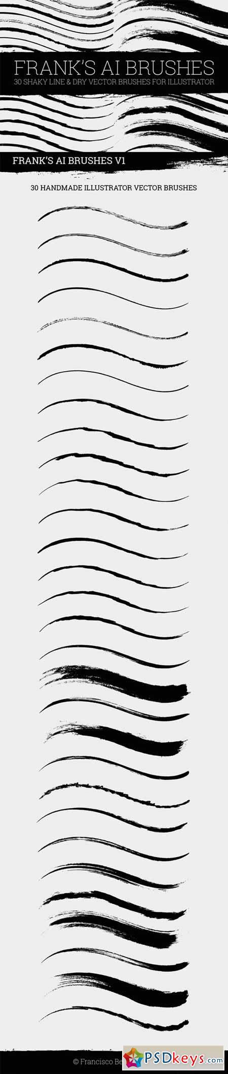 Illustrator Dry Brushes 394558