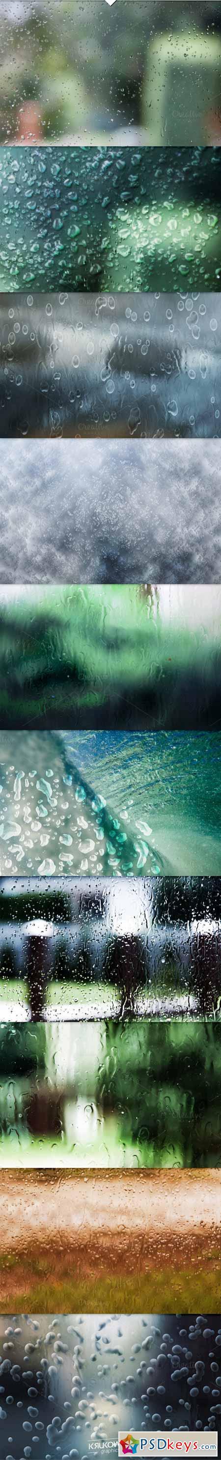 Water Drops PSD Backdrop 394477