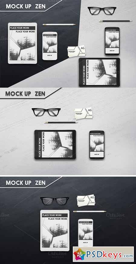 Mockup iPad and Nexus 6 394518