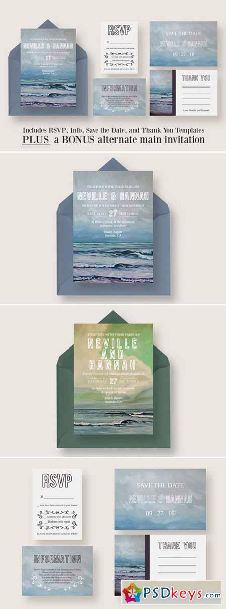 Painted Seascape Wedding Suite 393330